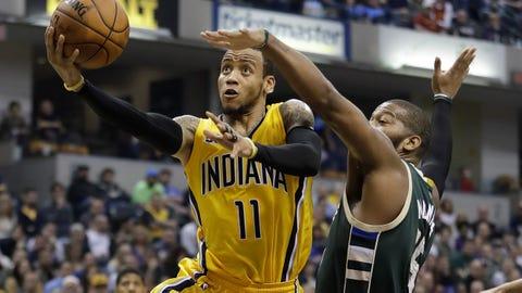 Milwaukee Bucks at Indiana Pacers