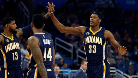 Indiana Pacers: Paul George, Jeff Teague, Myles Turner