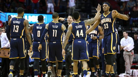 Indiana Pacers at Houston Rockets