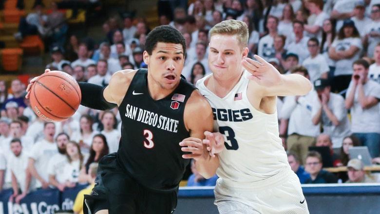 Kell, Hemsley fuel Aztecs' offense in 66-62 win over Utah State