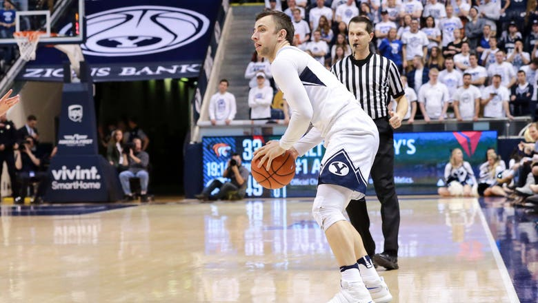 BYU's Nick Emery leads the charge in 82-70 win over San Diego