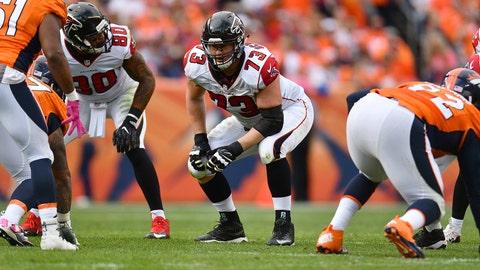 Ryan Schraeder, Offensive Tackle