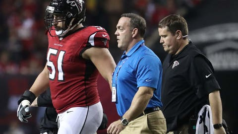 Atlanta Falcons: C Alex Mack