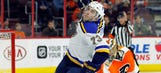 Blues assign Kenny Agostino to Wolves