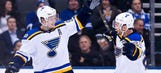 Blues look to extend winning streak to seven games against Sabres