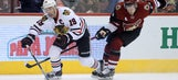 Coyotes take on streaking Blackhawks to open 2-game trip