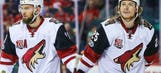Who are the newest members of the Wild, Martin Hanzal and Ryan White?
