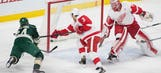 Five Wild players light the lamp in win over Red Wings