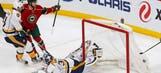 Zucker scores twice, powers Wild to 5-2 win over Predators