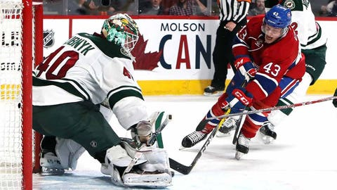 Jan. 14, 2015: The Wild trade for Devan Dubnyk