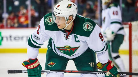 Oct. 20, 2009: Mikko Koivu is named the Wild's first full-time captain