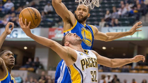 Golden State Warriors at Indiana Pacers