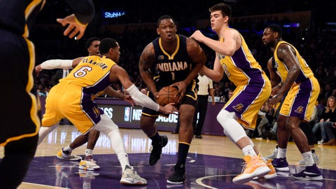 Indiana Pacers at Los Angeles Lakers