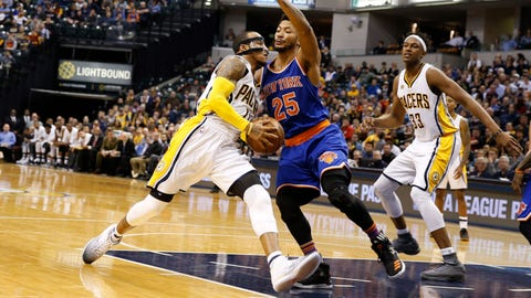 New York Knicks at Indiana Pacers