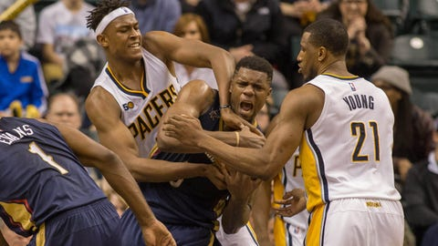 New Orleans Pelicans at Indiana Pacers