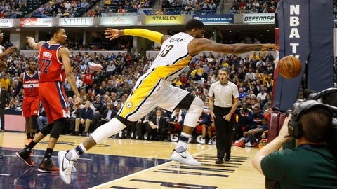 Washington Wizards at Indiana Pacers