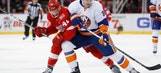 Islanders open 9-game road trip with 3-1 win over Red Wings