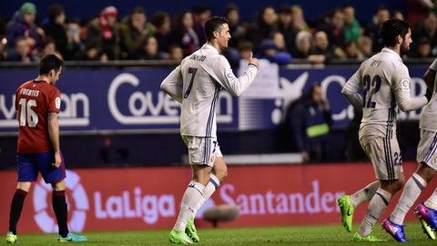Real Madrid vs. Napoli (Wednesday, 2:30 p.m. on FS2)