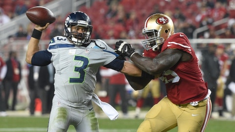 November 26: Seattle Seahawks at San Francisco 49ers, 4:05 p.m. ET