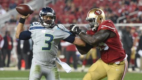 November 26: Seattle Seahawks at San Francisco 49ers, 4:05 p.m. ET