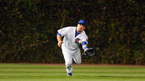 Can Kyle Schwarber even play the outfield?