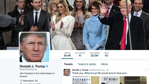Total tweets from Donald Trump on Sunday (Over 7.5)