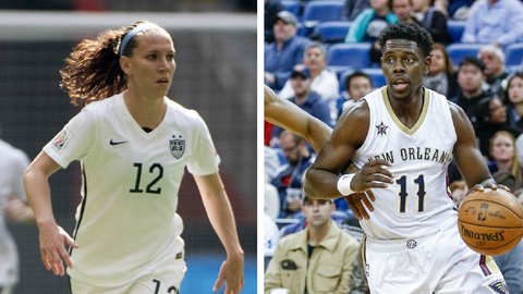 Lauren Holiday and Jrue Holiday