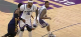 Buddy Hield ejected for striking DeMarcus Cousins below the belt