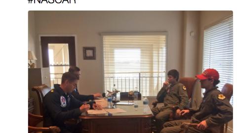 "Thanks, Capt. ""Speedy"" Gonsalves"