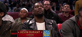 How about this P.A. announcer introducing Kevin Durant from 'OKC'