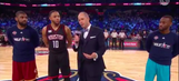 Watch: NBA stars raise $500,000 for Sager Strong Foundation in three-point shootout