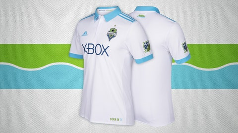 Seattle Sounders secondary kit