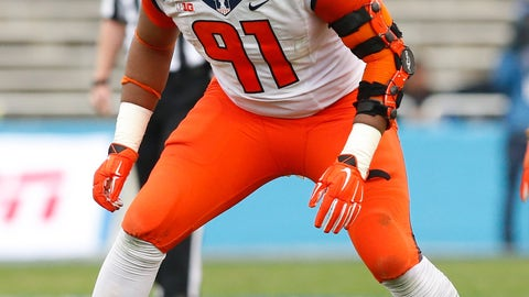 Broncos (compensatory pick): Dawuane Smoot, DE, Illinois