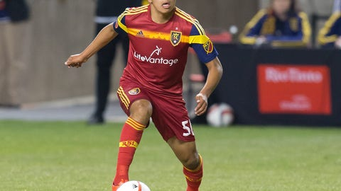 Real Salt Lake: Sebastian Saucedo
