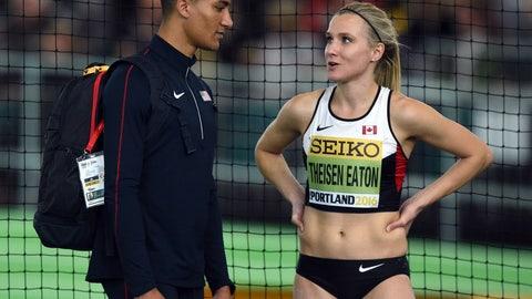 Ashton Eaton and Brianne Theisen-Eaton