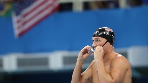 Lochte: Run from Rio