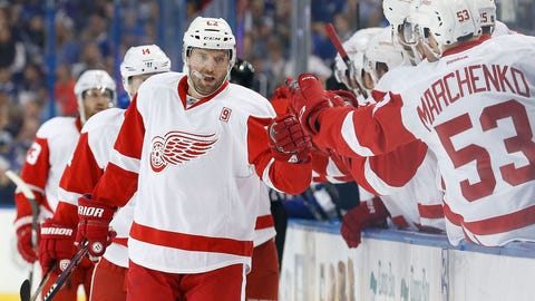 Thomas Vanek, F, Red Wings