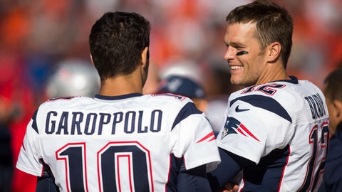 2. Trade Brady, install Garoppolo as starter