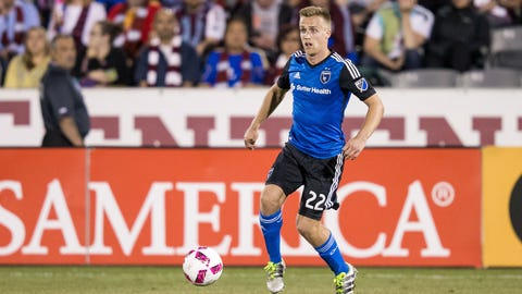 San Jose Earthquakes: Tommy Thompson