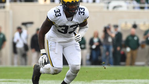 Taco Charlton, DE, Cowboys: 28th overall