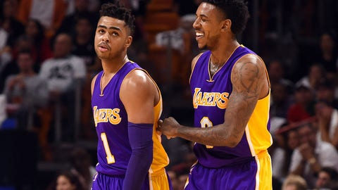 Betrayal: Nick Young and D'Angelo Russell