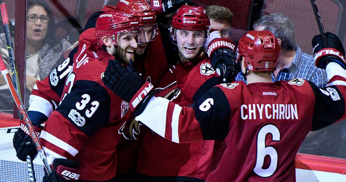 73bf65a08 The Arizona Coyotes want their fans to stop doing the wave