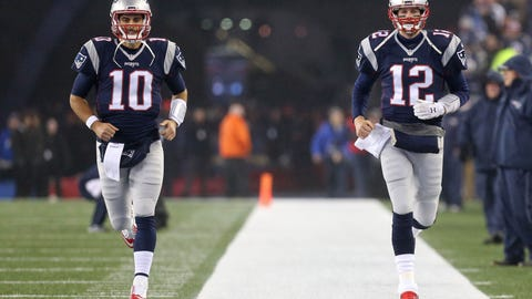 Okay, so will Jimmy Garoppolo be with the Patriots in 2018?