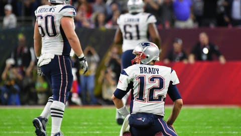 Most Super Bowls by one franchise: 9, Patriots