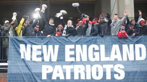 Patriots: No days off