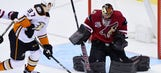 Ducks' comeback falls short against Coyotes after going down 3 goals in 1st period