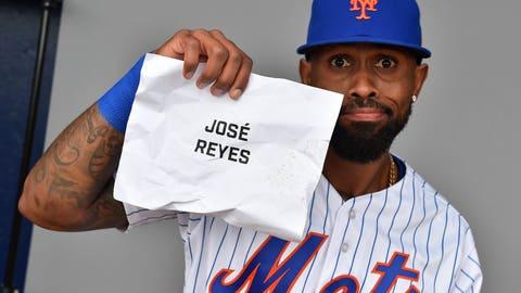 José Reyes: Definitely José Reyes