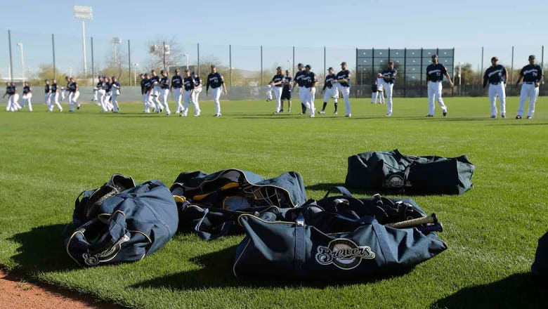 2018 Brewers non-roster spring training capsules