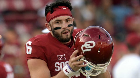 Oklahoma: Baker Mayfield will be a stud regardless of the coach