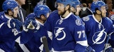 Victor Hedman strikes 1st, scores again in OT to lift Lightning to victory